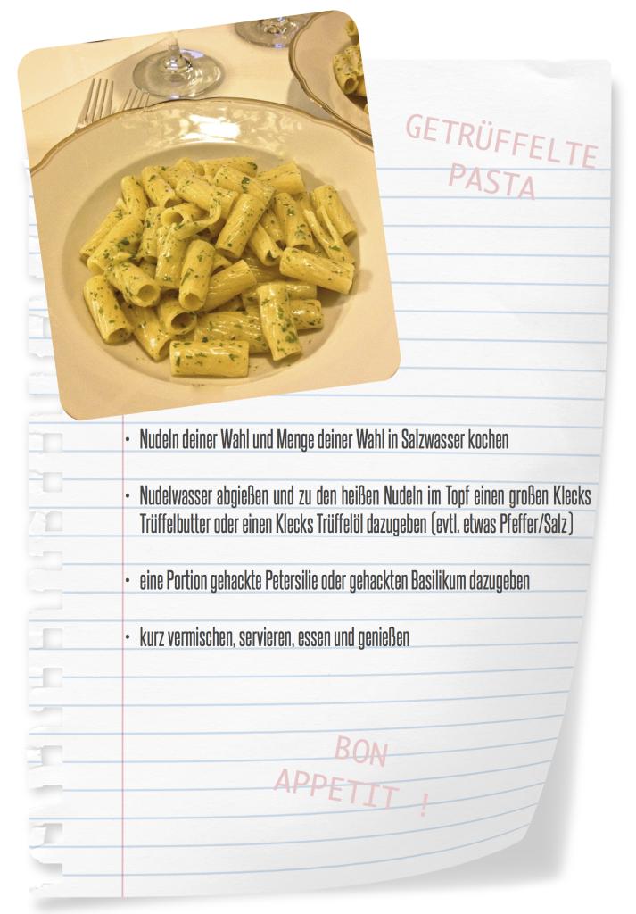 getrüffelte pasta